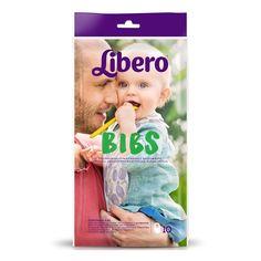 Акция на Нагрудники с карманом для крошек, 10 шт. 2211 ТМ: Libero от Antoshka