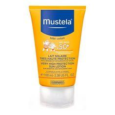 Акция на Солнцезащитный лосьон Mustela SPF 50+ 100 мл 8702612 ТМ: Mustela от Antoshka