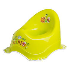 Акция на Горшок Maltex Baby Дино с нескользящими резинками Салатовый 7408 ТМ: Maltex Baby от Antoshka