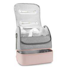 Акция на Сумка-стерилизатор 59S UVC LED P14 Pink для посуды  P14 ТМ: 59S от Antoshka