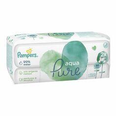 Акция на Влажные салфетки Pampers Aqua Pure 96 шт  ТМ: Pampers от Antoshka