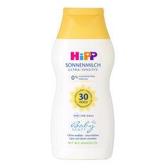 Акция на Cолнцезащитное молочко HIPP BabySanft SPF30200 мл 9642 ТМ: HIPP BabySanft от Antoshka