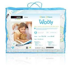 Акция на Одеяло детское Wooly, шерстяное 110 X 140 ТМ: Sonex от Antoshka