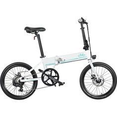 Акция на Электровелосипед FIIDO D4S White от Allo UA