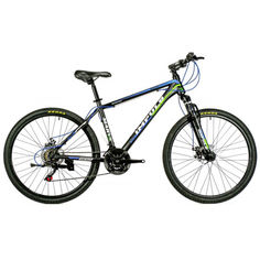"Акция на Велосипед IMPULS MARVEL 26"" 17""черно-синие-салатовый (MW26-2) от Allo UA"