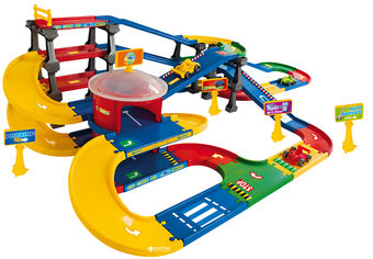 Мультипаркинг с дорогой 9.1 м Kid Cars 3D Wader (53070) от Rozetka