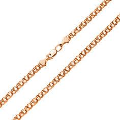 Акция на Золотая цепочка в красном цвете с алмазной гранью, 3,5мм 000117331 50 размера от Zlato