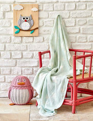 Акция на Детское покрывало пике Baby star Karaca Home yesil зеленое от Podushka