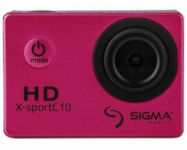 Акция на Экшн-камера Sigma X-sport C10 Pink от Територія твоєї техніки