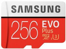 Акция на Карта пам'яті Samsung EVO Plus microSDXC 256GB UHS-I Class 10 + SD-адаптер (MB-MC256HA/RU) от Територія твоєї техніки