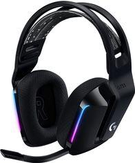 Акция на Наушники Logitech Lightspeed Wireless RGB Gaming Headset G733 Black (981-000864) от Rozetka