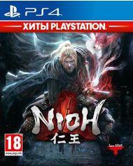 Акция на Игра Nioh - Хиты PlayStation для PS4 (Blu-ray диск, Russian version) от Rozetka