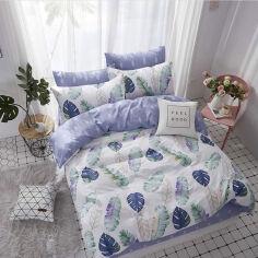 Акция на Комплект постельного белья MirSon Бязь Premium 17-0274 Seaweed Евро (2200002111942) от Rozetka
