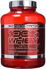 Акция на Протеин Scitec Nutrition 100% Whey Protein Prof 2350 г Lemon - Cheesecake (5999100021600) от Rozetka