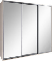 Шкаф-купе Феникс FM007855 Зеркало 230 x 60 x 240 см трехдверный Венге светлый от Rozetka