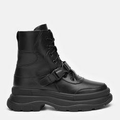 Акция на Ботинки Kento 3082 37 24 см Черные (2000000128580) от Rozetka