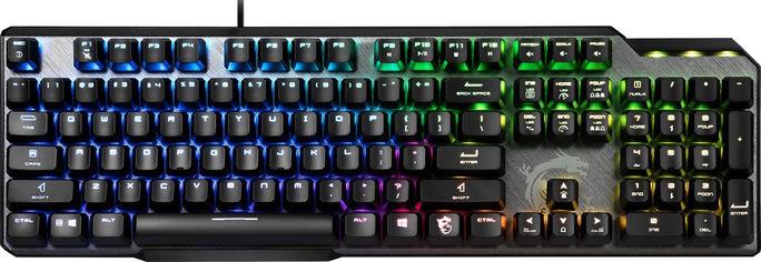 Акция на Клавиатура проводная MSI Vigor GK50 Elite BW USB от Rozetka