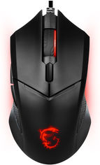 Акция на Мышь MSI Clutch GM08 Gaming Mouse USB Black (CLUTCH GM08) от Rozetka