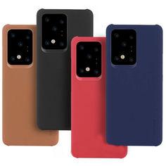 Акция на PC чехол c микрофиброй G-Case Juan Series для Samsung Galaxy S20+ Красный от Allo UA