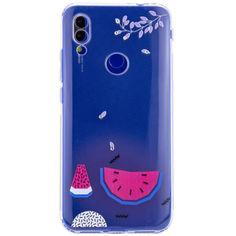 Акция на TPU чехол Luxury Diamond full protective для Xiaomi Redmi Note 7 / Note 7 Pro / Note 7s Голубой / Арбуз от Allo UA