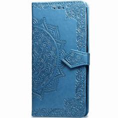 Акция на Кожаный чехол (книжка) Art Case с визитницей для Huawei Honor 20 / Nova 5T Синий от Allo UA