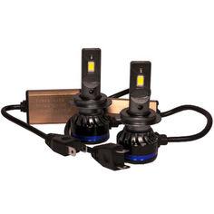 Акция на Светодиодные лампы LED TBS Design T19 H7 6000k 9000Lm 45w 12-24v от Allo UA