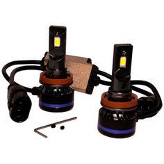 Акция на Светодиодные лампы LED TBS Design T19 H11 6000k 9000Lm 45w 12-24v от Allo UA
