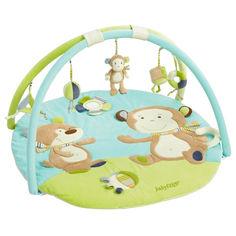 Акция на Развивающий коврик Fehn обезьянка (81664) от Allo UA