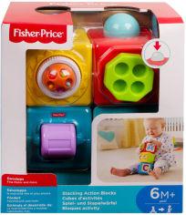 Акция на Двигающиеся кубики Fisher-Price Яркие (DHW15) от Rozetka