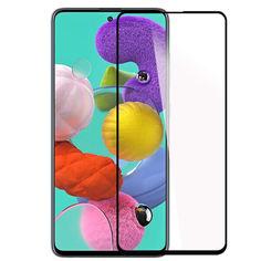 Акция на Защитное стекло 2.5D CP+ (full glue) для Samsung Galaxy A71 / Note 10 Lite Черный от Allo UA