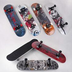 Акция на Скейт Best Board доска, подшипник АВЕС-9, колёса PU, диаметр 5,5см Multicolor скейтборд для уличного катания от Allo UA