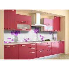 """Акция на Наклейки кухонный фартук Zatarga """"L'amour """" 600х3000 мм фиолетовый от Allo UA"""