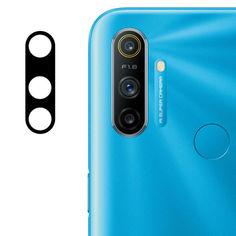 Акция на Гибкое защитное стекло 0.18mm на камеру (тех.пак) для Realme C3 Черный от Allo UA
