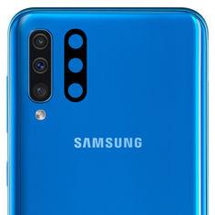 Акция на Гибкое ультратонкое стекло Epic на камеру для Samsung Galaxy A50s Черный от Allo UA