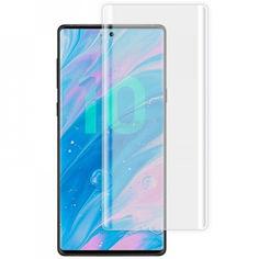 Акция на Защитное 3D стекло Nano Optics с УФ лампой для Samsung Galaxy Note 10 Plus Прозрачный от Allo UA