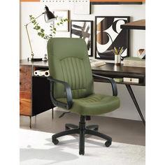 Акция на Офисное Кресло Руководителя Richman Фиджи Флай 2235 Пластик М1 Tilt Зеленое от Allo UA