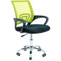 Акция на Офисное Кресло Руководителя Richman Спайдер Сетка Черное + Салатовое от Allo UA