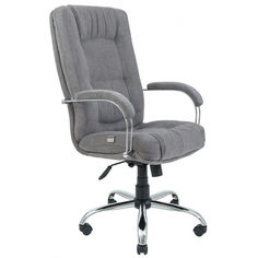 Акция на Офисное Кресло Руководителя Richman Альберто Мисти Gray Хром М1 Tilt Серое от Allo UA