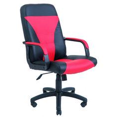 Акция на Офисное Кресло Руководителя Richman Сиеста Флай 2210-2230 Пластик Рич М1 Tilt Черно-Красное от Allo UA