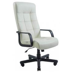 Акция на Офисное Кресло Руководителя Richman Вирджиния Boom 01 Пластик М2 AnyFix Белое от Allo UA
