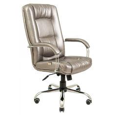 Акция на Офисное Кресло Руководителя Richman Альберто Boom 22 Хром М3 MultiBlock Серое от Allo UA
