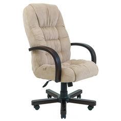 Акция на Офисное Кресло Руководителя Richman Ричард Gordon 22 Wood М2 AnyFix Бежевое от Allo UA