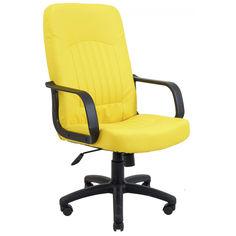 Акция на Офисное Кресло Руководителя Richman Фиджи Флай 2240 Пластик М2 AnyFix Желтое от Allo UA