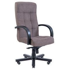 Акция на Офисное Кресло Руководителя Richman Вирджиния Мисти Coffee Wood М3 MultiBlock Кофейное от Allo UA