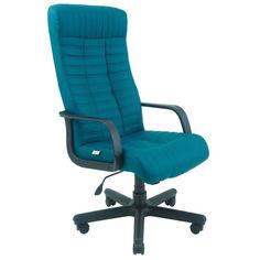 Акция на Офисное Кресло Руководителя Richman Прованс Флай Пластик М2 AnyFix Синее от Allo UA