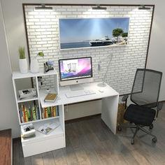 Акция на Стол компьютерный Forte Erland 1450*1116*516 Белый от Allo UA