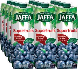 Акция на Упаковка нектара Jaffa Черника-черноплодная 0.95 л х 12 шт (4820192260237_4820003685778) от Rozetka