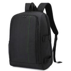 """Акция на Фото рюкзак Canon EOS Nikon Sony Olympus универсальный с отделом для ноутбука 15,6""""; + дождевик черный ( IBF022BG ) от Allo UA"""