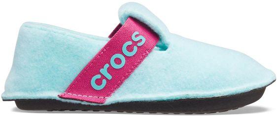 Комнатные тапочки Crocs Kids Classic Slipper 205349-4O9-C13 30-31 19.1 см Голубые (191448359314) от Rozetka