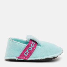 Комнатные тапочки Crocs Kids Classic Slipper 205349-4O9-J2 33-34 20.8 см Голубые (191448359390) от Rozetka